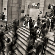Crowded stairwell: How I Network